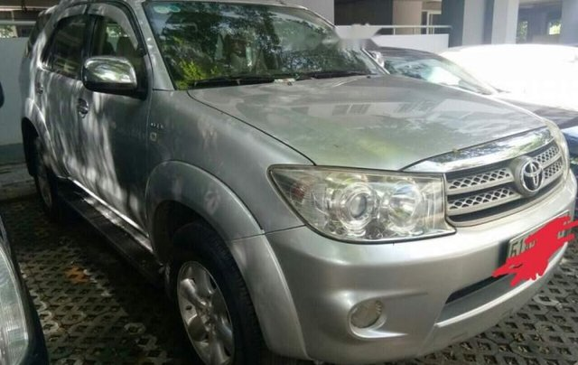 Chính chủ bán Toyota Fortuner đời 2011, màu bạc1