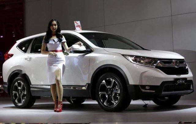 Bán Honda CR V năm sản xuất 2019, màu trắng, xe nhập2