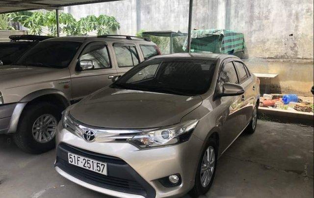 Gia đình bán Toyota Vios G đời 2015, màu vàng cát4