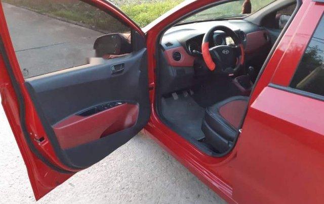 Bán Hyundai Grand i10 sản xuất 2014, màu đỏ, nhập khẩu  1