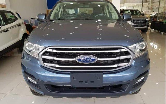 Bán xe Ford Everest đời 2019, màu xanh lam, nhập khẩu 0