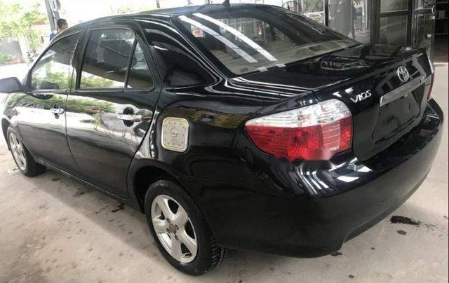 Bán Toyota Vios đời 2005, màu đen chính chủ, giá 165tr2