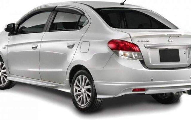 Bán Mitsubishi Attrage đời 2019, màu bạc, nhập khẩu Thái Lan1