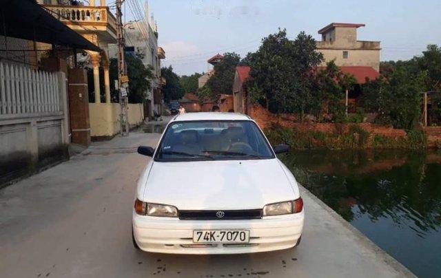 Bán Mazda 323 đời 1996, màu trắng, nhập khẩu, xe đẹp0