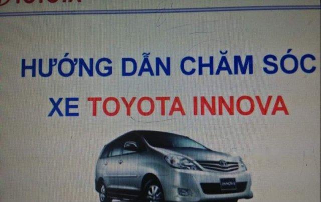 Bán Toyota Innova sản xuất 2008, màu bạc, nhập khẩu nguyên chiếc xe gia đình1