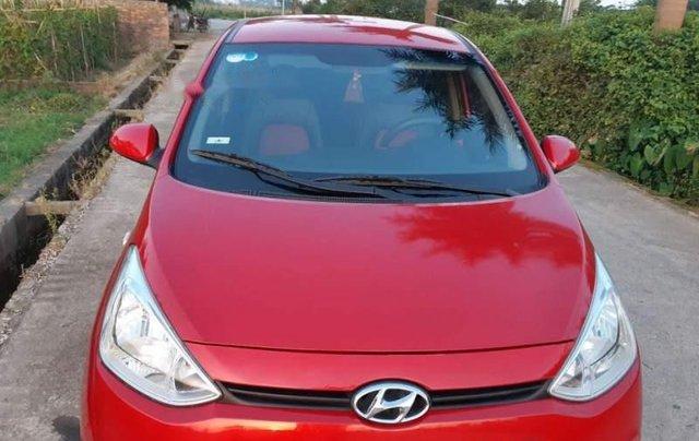 Bán Hyundai Grand i10 sản xuất 2014, màu đỏ, nhập khẩu  5