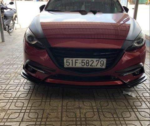 Bán ô tô Mazda 3 2.0 năm 2015, màu đỏ xe gia đình0