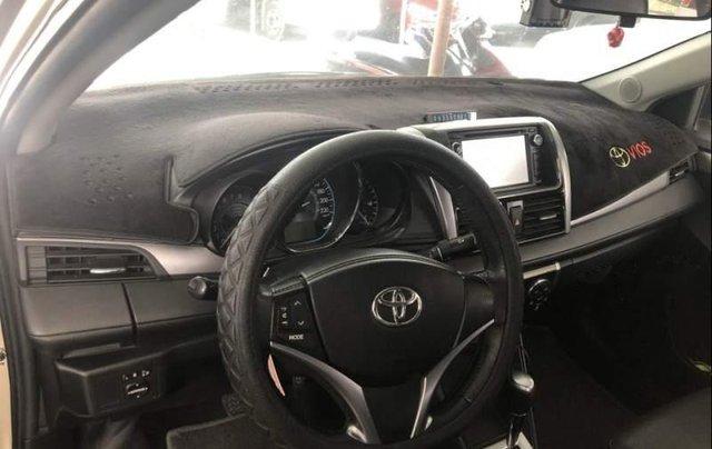 Gia đình bán Toyota Vios G đời 2015, màu vàng cát1