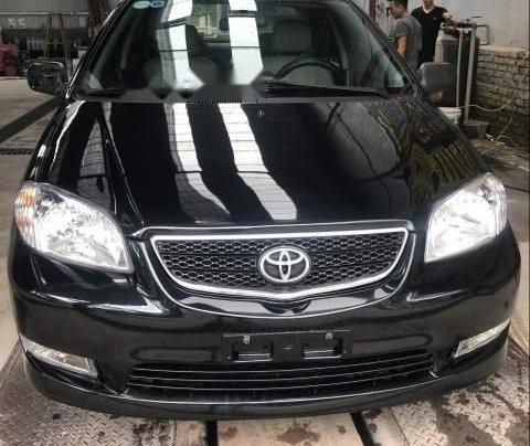 Bán Toyota Vios đời 2005, màu đen chính chủ, giá 165tr1