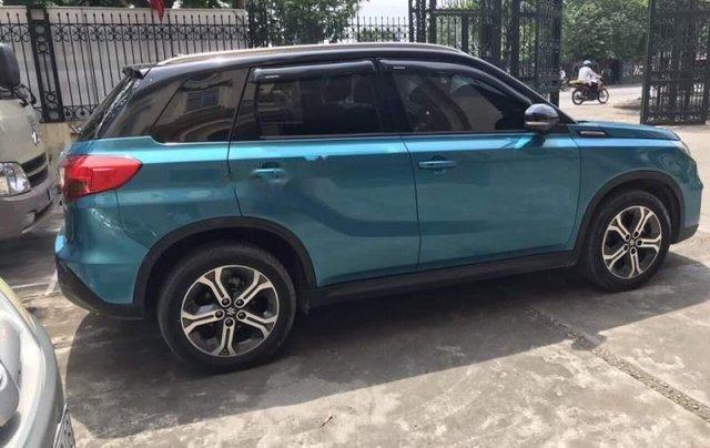 Bán xe Suzuki Vitara năm sản xuất 2016, màu xanh lam, nhập khẩu2