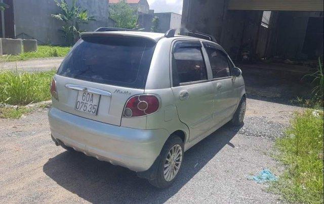 Chính chủ bán Daewoo Matiz đời 2007, màu bạc, nhập khẩu1