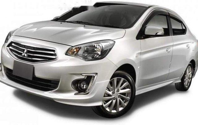 Bán Mitsubishi Attrage đời 2019, màu bạc, nhập khẩu Thái Lan0