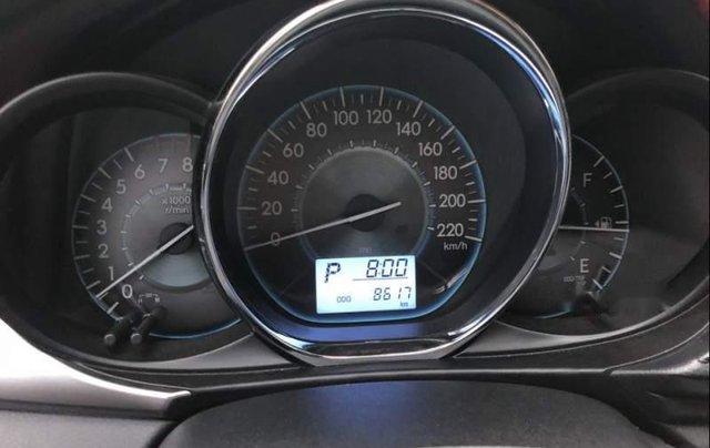Bán xe Toyota Vios G đời 2015, màu vàng cát1
