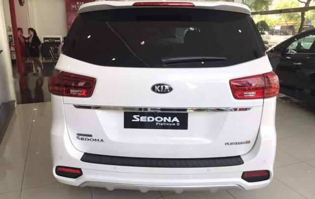 Bán Kia Sedona Platinum D đời 2019, màu trắng, xe nhập1