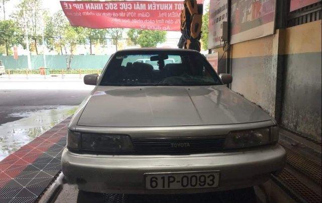 Bán Toyota Camry năm sản xuất 1987, màu bạc2