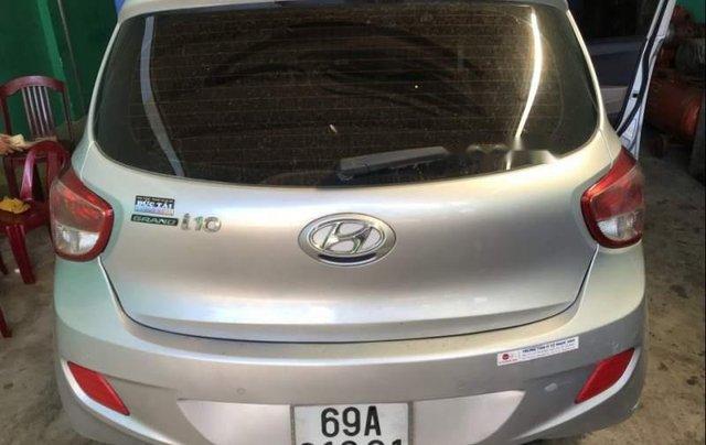 Bán xe Hyundai Grand i10 sản xuất 2015, màu bạc, nhập khẩu  4