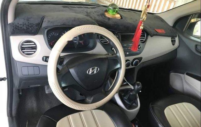 Bán Hyundai Grand i10 2015, màu trắng, nhập khẩu3