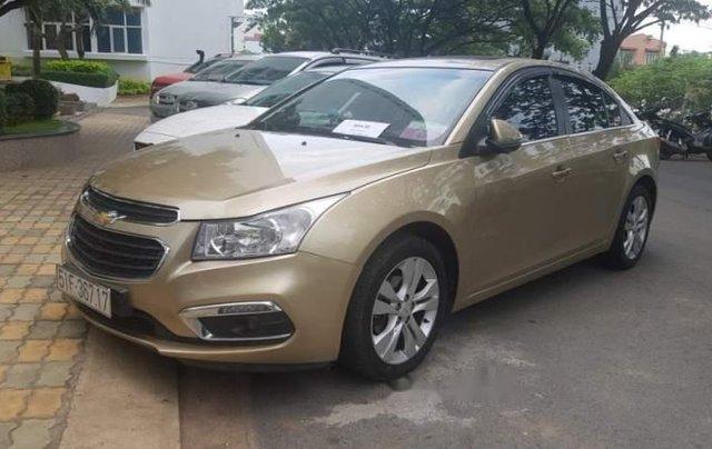 Bán xe Chevrolet Cruze 1.8  LTZ sản xuất năm 2015, màu vàng, nhập khẩu 1