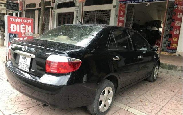 Bán Toyota Vios đời 2005, màu đen chính chủ, giá 165tr3