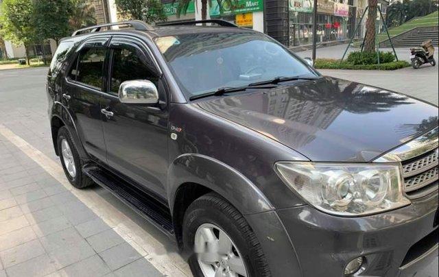 Cần bán lại xe Toyota Fortuner 2.5G đời 2011, màu xám chính chủ giá cạnh tranh1
