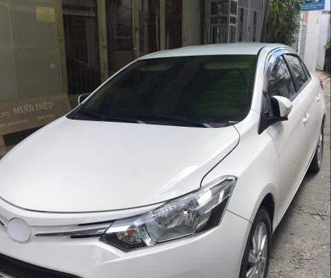 Cần bán xe Toyota Vios đời 2017, màu trắng1