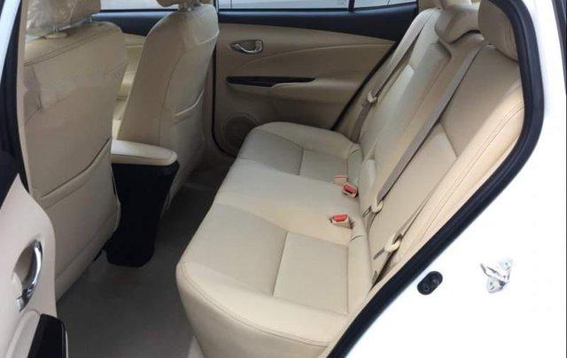 Bán Toyota Vios G 1.5CVT 2019, màu trắng, giá 571tr3