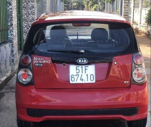 Gia đình bán Kia Morning đời 2010, màu đỏ2