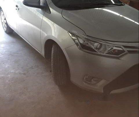 Bán Toyota Vios G năm sản xuất 2017, màu bạc0