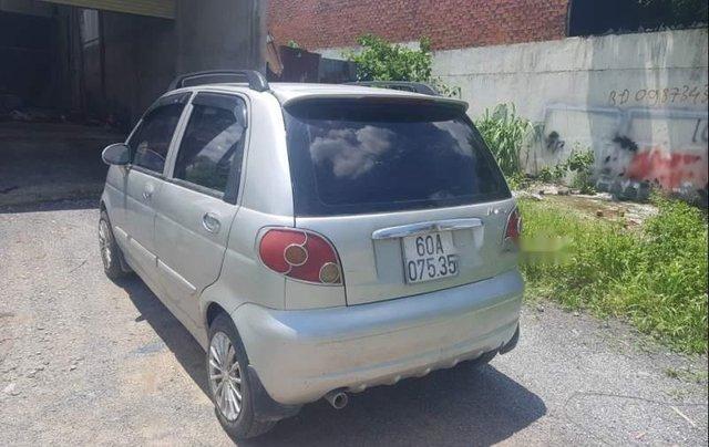 Chính chủ bán Daewoo Matiz đời 2007, màu bạc, nhập khẩu2