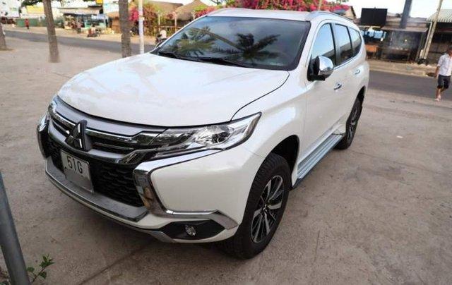 Bán Mitsubishi Pajero Sport 2018, màu trắng, nhập khẩu 0