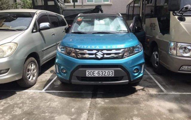 Bán xe Suzuki Vitara năm sản xuất 2016, màu xanh lam, nhập khẩu0