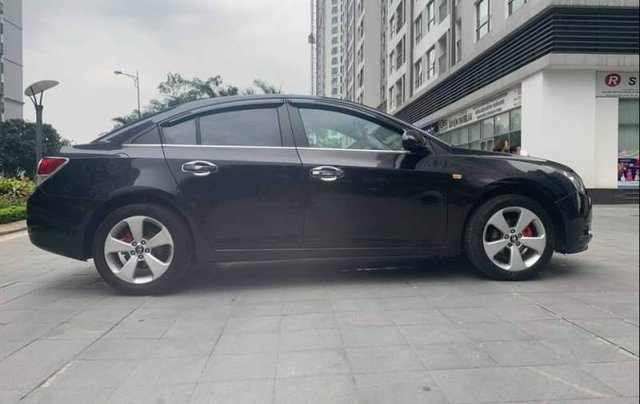 Cần bán gấp Daewoo Lacetti CDX  1.6 AT 2010, màu đen xe gia đình2
