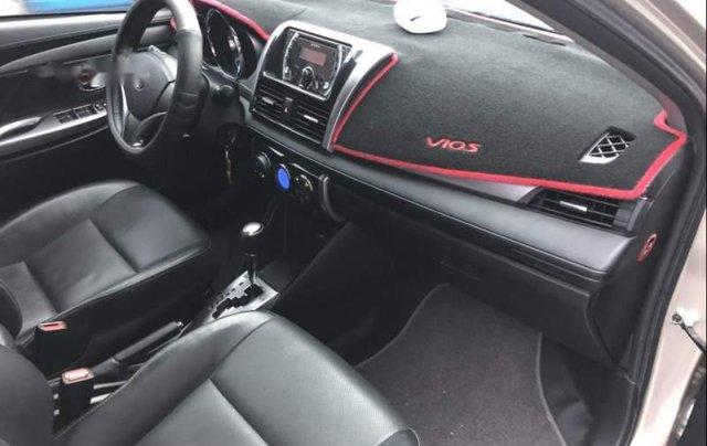 Bán xe Toyota Vios G đời 2015, màu vàng cát3