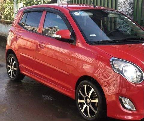 Gia đình bán Kia Morning đời 2010, màu đỏ1