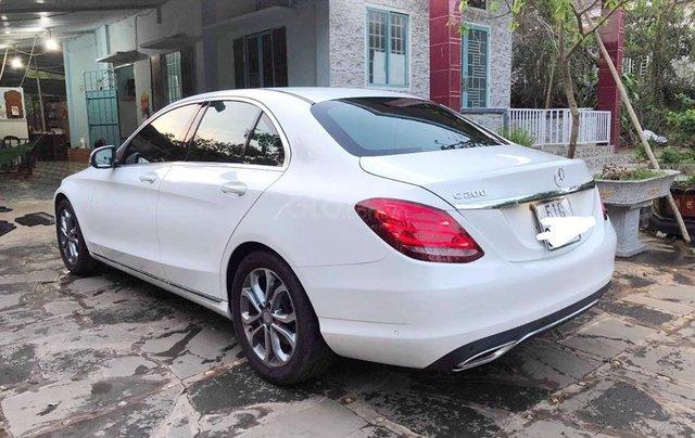Bán xe Mercedes C200 trắng/kem đời 2017 cũ chính hãng. Trả trước 400 triệu nhận xe ngay3