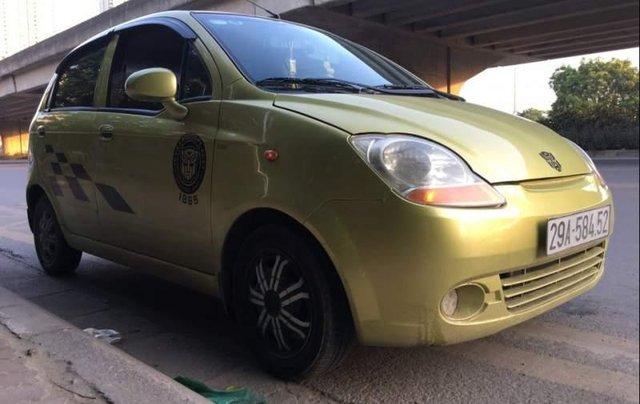 Bán xe Daewoo Matiz 2008, màu xanh lục, nhập khẩu1
