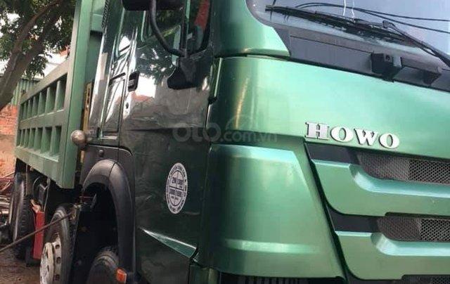 Bán Howo xe ben 4 chân sản xuất năm 2015, biển số siêu vip5