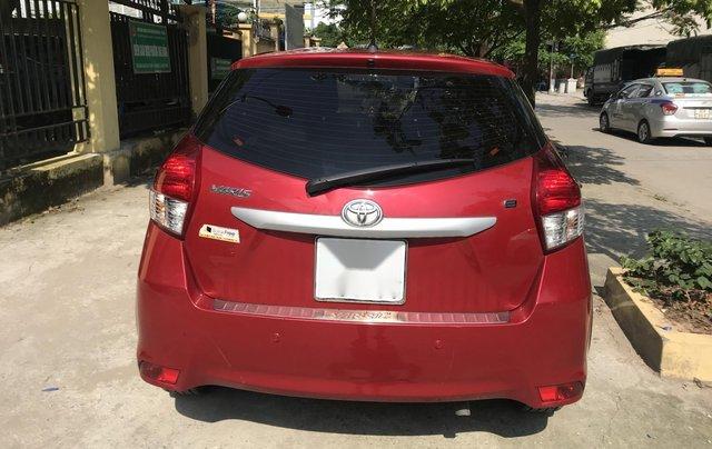 Cần bán xe Toyota Yaris E sản xuất năm 2016, màu đỏ, nhập khẩu nguyên chiếc2