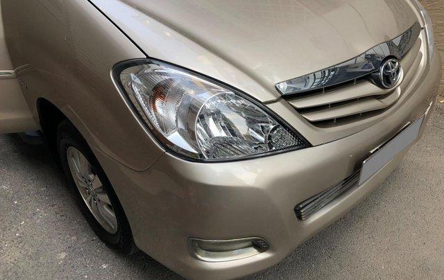 Cần bán Toyota Innova G SR 2011, số sàn, màu vàng cát1