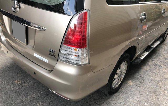 Cần bán Toyota Innova G SR 2011, số sàn, màu vàng cát3