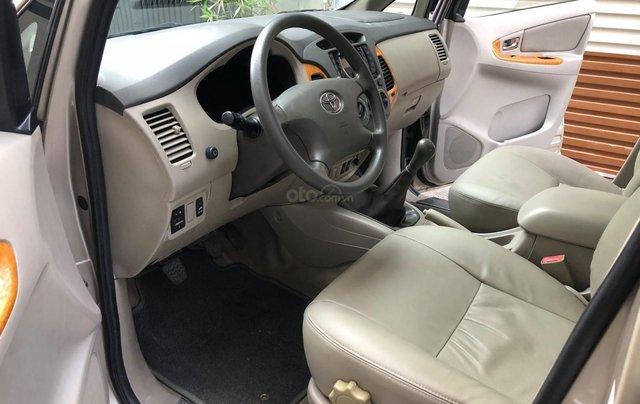 Cần bán Toyota Innova G SR 2011, số sàn, màu vàng cát6