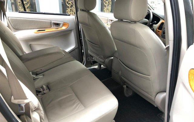 Cần bán Toyota Innova G SR 2011, số sàn, màu vàng cát9