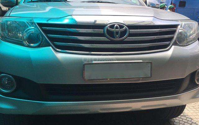Bán Toyota Fortuner đời 2013, màu bạc, giá 670tr0