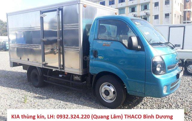 Trả trước 100 triệu đã mua được chiếc Kia K250 tải 2.49 tấn, máy Hyundai đời 2019, thùng dài 3.5 mét, xe tại Thuận An0