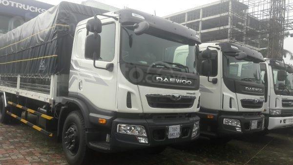 Daewoo Prima tải trọng 9 tấn, thùng dài 7.4m2