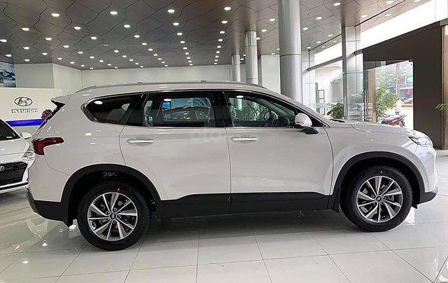 Bán xe Hyundai Santa Fe 2.4L đời 2019, màu trắng1