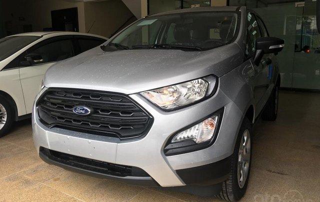 Bán Ford EcoSport đời 2019, màu bạc, giá tốt0