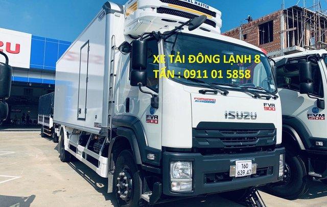 Xe tải Isuzu thùng đông lạnh, tải trọng 8 tấn0
