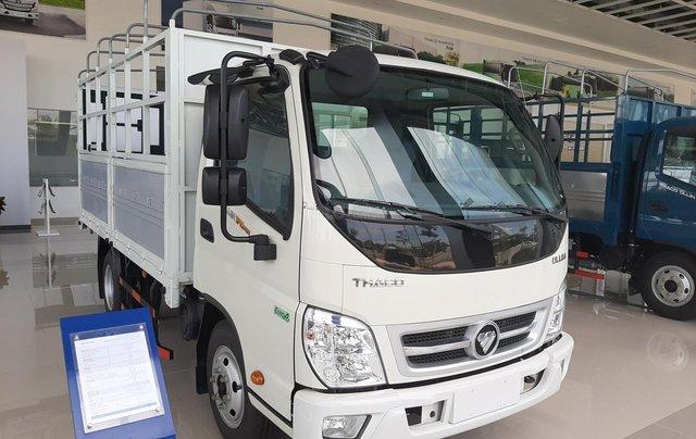 Bán xe tải Thaco Ollin 345. E4 tải trọng 2.35 tấn, thùng dài 3.7m0