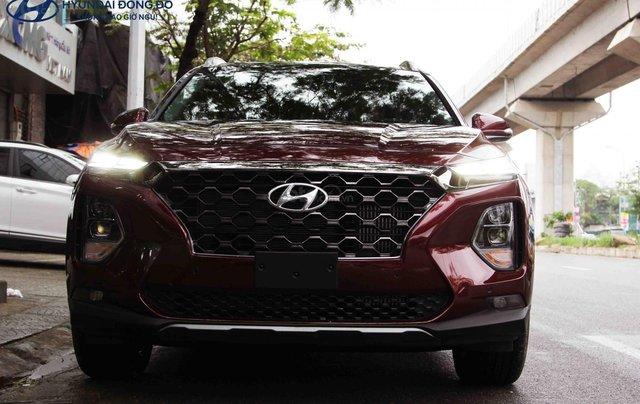 Bán Hyundai Santa Fe dầu Premium 2019, một xe duy nhất0